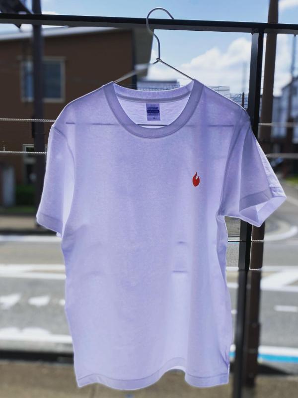 ヒノネ白Tシャツ作りました‼